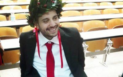 Auguri per la laurea Pasquale!